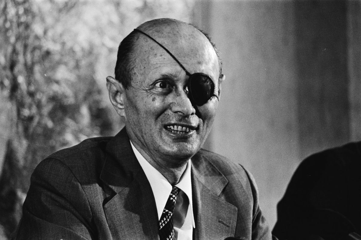 Landmarks from the controversial life of moshe dayan.