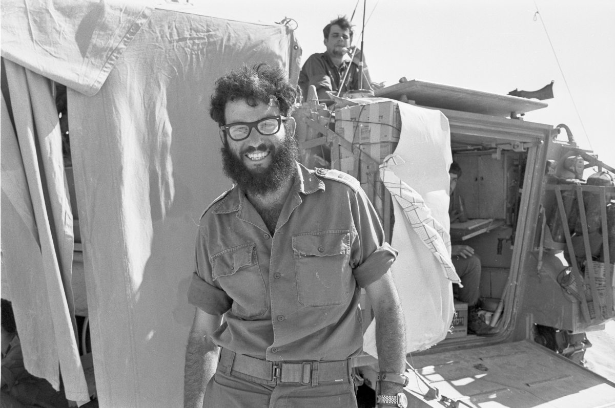 photo number 003 shows Yakov Amidror intel officer 162d Divt Sinai Oct 10 1973  by xx